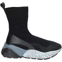Παπούτσια Γυναίκα Ψηλά Sneakers Studio Italia STAR 04 Μαύρος