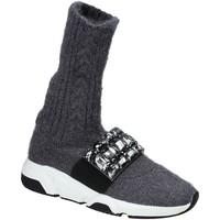 Παπούτσια Γυναίκα Ψηλά Sneakers Studio Italia BLANCHE 08 Γκρί