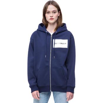 Υφασμάτινα Γυναίκα Φούτερ Calvin Klein Jeans J20J207832 Μπλε