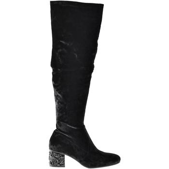 Παπούτσια Γυναίκα Μπότες για την πόλη Elvio Zanon I1903B Μαύρος