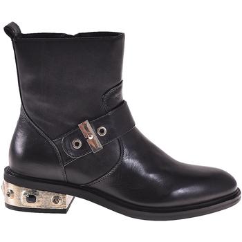 Παπούτσια Γυναίκα Μποτίνια Elvio Zanon I8405P Μαύρος