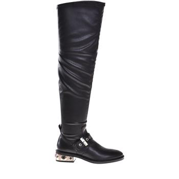 Παπούτσια Γυναίκα Μπότες για την πόλη Elvio Zanon I8406P Μαύρος