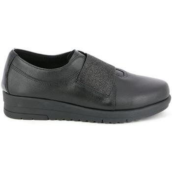 Παπούτσια Γυναίκα Μοκασσίνια Grunland SC3979 Μαύρος