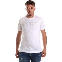 Υφασμάτινα Άνδρας T-shirt με κοντά μανίκια Navigare NV31081 λευκό