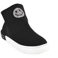 Παπούτσια Παιδί Ψηλά Sneakers Holalà HS0015T0002J Μαύρος