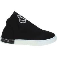 Παπούτσια Παιδί Ψηλά Sneakers Holalà HS0017T0002J Μαύρος