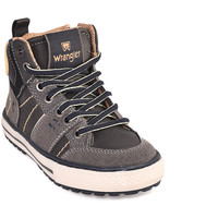 Παπούτσια Παιδί Ψηλά Sneakers Wrangler WJ18213 Μαύρος