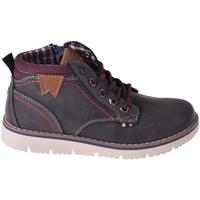Παπούτσια Παιδί Ψηλά Sneakers Wrangler WJ18211 Μαύρος