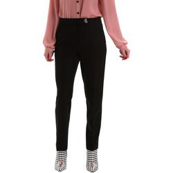 Υφασμάτινα Γυναίκα Παντελόνια Chino/Carrot Gaudi 921FD25001 Μαύρος