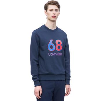 Υφασμάτινα Άνδρας Φούτερ Calvin Klein Jeans K10K102981 Μπλε