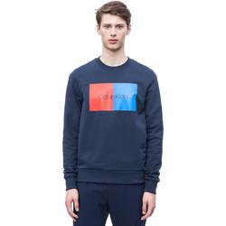 Υφασμάτινα Άνδρας Φούτερ Calvin Klein Jeans K10K103498 Μπλε