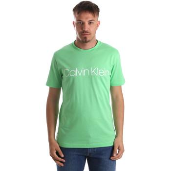 Υφασμάτινα Άνδρας T-shirt με κοντά μανίκια Calvin Klein Jeans K10K103078 Πράσινος
