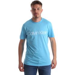 Υφασμάτινα Άνδρας T-shirt με κοντά μανίκια Calvin Klein Jeans K10K103078 Μπλε