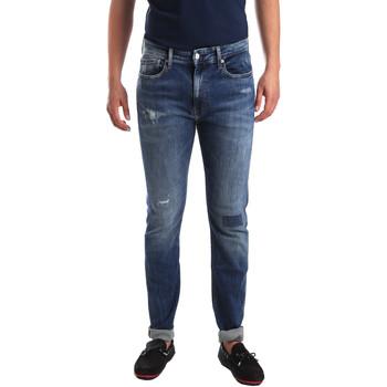 Υφασμάτινα Άνδρας Skinny Τζιν  Calvin Klein Jeans J30J311691 Μπλε