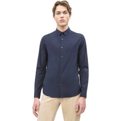 Υφασμάτινα Άνδρας Πουκάμισα με μακριά μανίκια Calvin Klein Jeans J30J312439 Μπλε