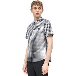 Υφασμάτινα Άνδρας Πουκάμισα με κοντά μανίκια Calvin Klein Jeans J30J311492 λευκό
