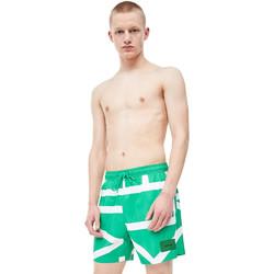 Υφασμάτινα Άνδρας Μαγιώ / shorts για την παραλία Calvin Klein Jeans KM0KM00274 Πράσινος