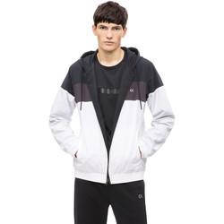 Υφασμάτινα Άνδρας Μπουφάν Calvin Klein Jeans 00GMH8O534 λευκό