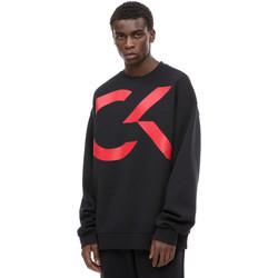 Υφασμάτινα Άνδρας Φούτερ Calvin Klein Jeans 00GMH8W329 Μαύρος