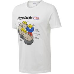 Υφασμάτινα Άνδρας T-shirt με κοντά μανίκια Reebok Sport DT8122 λευκό