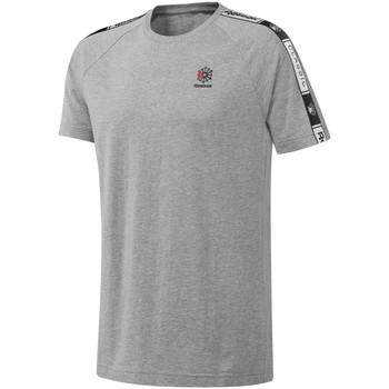 Υφασμάτινα Άνδρας T-shirt με κοντά μανίκια Reebok Sport DT8146 Γκρί