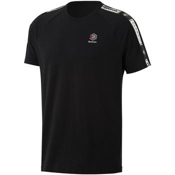 Υφασμάτινα Άνδρας T-shirt με κοντά μανίκια Reebok Sport DT8147 Μαύρος