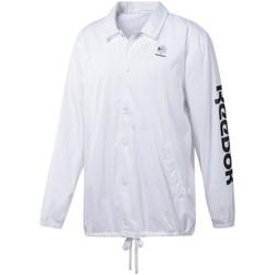 Υφασμάτινα Άνδρας Σπορ Ζακέτες Reebok Sport DT8203 λευκό