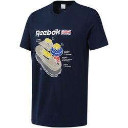 Υφασμάτινα Άνδρας T-shirt με κοντά μανίκια Reebok Sport DT9445 Μπλε