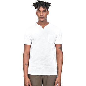 Υφασμάτινα Άνδρας T-shirt με κοντά μανίκια Antony Morato MMKS01487 FA100139 λευκό