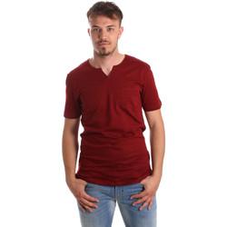 Υφασμάτινα Άνδρας T-shirt με κοντά μανίκια Antony Morato MMKS01487 FA100139 το κόκκινο