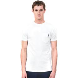 Υφασμάτινα Άνδρας T-shirt με κοντά μανίκια Antony Morato MMKS01490 FA100084 λευκό