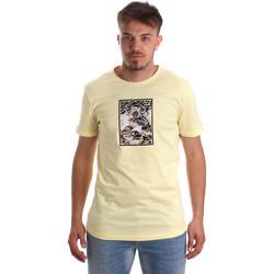Υφασμάτινα Άνδρας T-shirt με κοντά μανίκια Antony Morato MMKS01551 FA100144 Κίτρινος