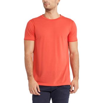 Υφασμάτινα Άνδρας T-shirt με κοντά μανίκια Gaudi 911FU64005 το κόκκινο