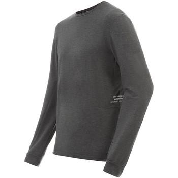 Υφασμάτινα Άνδρας Μπλουζάκια με μακριά μανίκια New Balance NBMT91252HC Γκρί