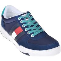 Παπούτσια Άνδρας Χαμηλά Sneakers Tommy Hilfiger EM0EM00260 Μπλε