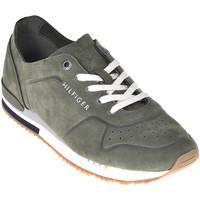 Παπούτσια Άνδρας Χαμηλά Sneakers Tommy Hilfiger FM0FM02158 Πράσινος