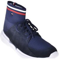 Παπούτσια Άνδρας Ψηλά Sneakers Tommy Hilfiger FM0FM02235 Μπλε
