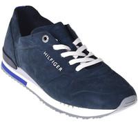 Παπούτσια Άνδρας Χαμηλά Sneakers Tommy Hilfiger FM0FM02158 Μπλε