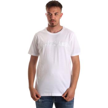 Υφασμάτινα Άνδρας T-shirt με κοντά μανίκια Navigare NV31070 λευκό