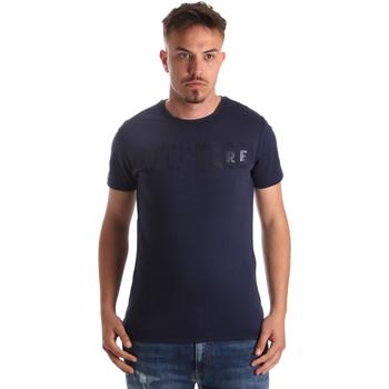 Υφασμάτινα Άνδρας T-shirt με κοντά μανίκια Navigare NV31081 Μπλε