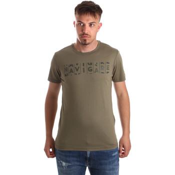 Υφασμάτινα Άνδρας T-shirt με κοντά μανίκια Navigare NV31081 Πράσινος