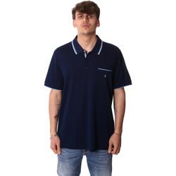 Υφασμάτινα Άνδρας Πόλο με κοντά μανίκια  Navigare NV72045AD Μπλε