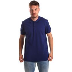 Υφασμάτινα Άνδρας Πόλο με κοντά μανίκια  Navigare NV82001AD Μπλε