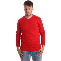 Υφασμάτινα Άνδρας Πουλόβερ U.S Polo Assn. 51727 51431 το κόκκινο