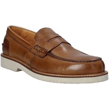 Παπούτσια Άνδρας Μοκασσίνια Exton 9102 καφέ