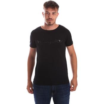 Υφασμάτινα Άνδρας T-shirt με κοντά μανίκια Byblos Blu 2MT0023 TE0048 Μαύρος