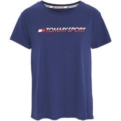 Υφασμάτινα Γυναίκα T-shirt με κοντά μανίκια Tommy Hilfiger S10S100061 Μπλε