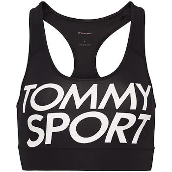 Υφασμάτινα Γυναίκα Αθλητικά μπουστάκια  Tommy Hilfiger S10S100070 Μαύρος