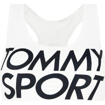 Υφασμάτινα Γυναίκα Αθλητικά μπουστάκια  Tommy Hilfiger S10S100070 λευκό