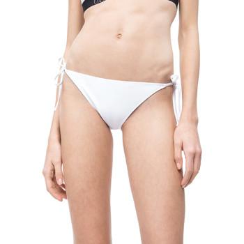 Υφασμάτινα Γυναίκα Μαγιό μόνο το πάνω ή κάτω μέρος Calvin Klein Jeans KW0KW00647 λευκό